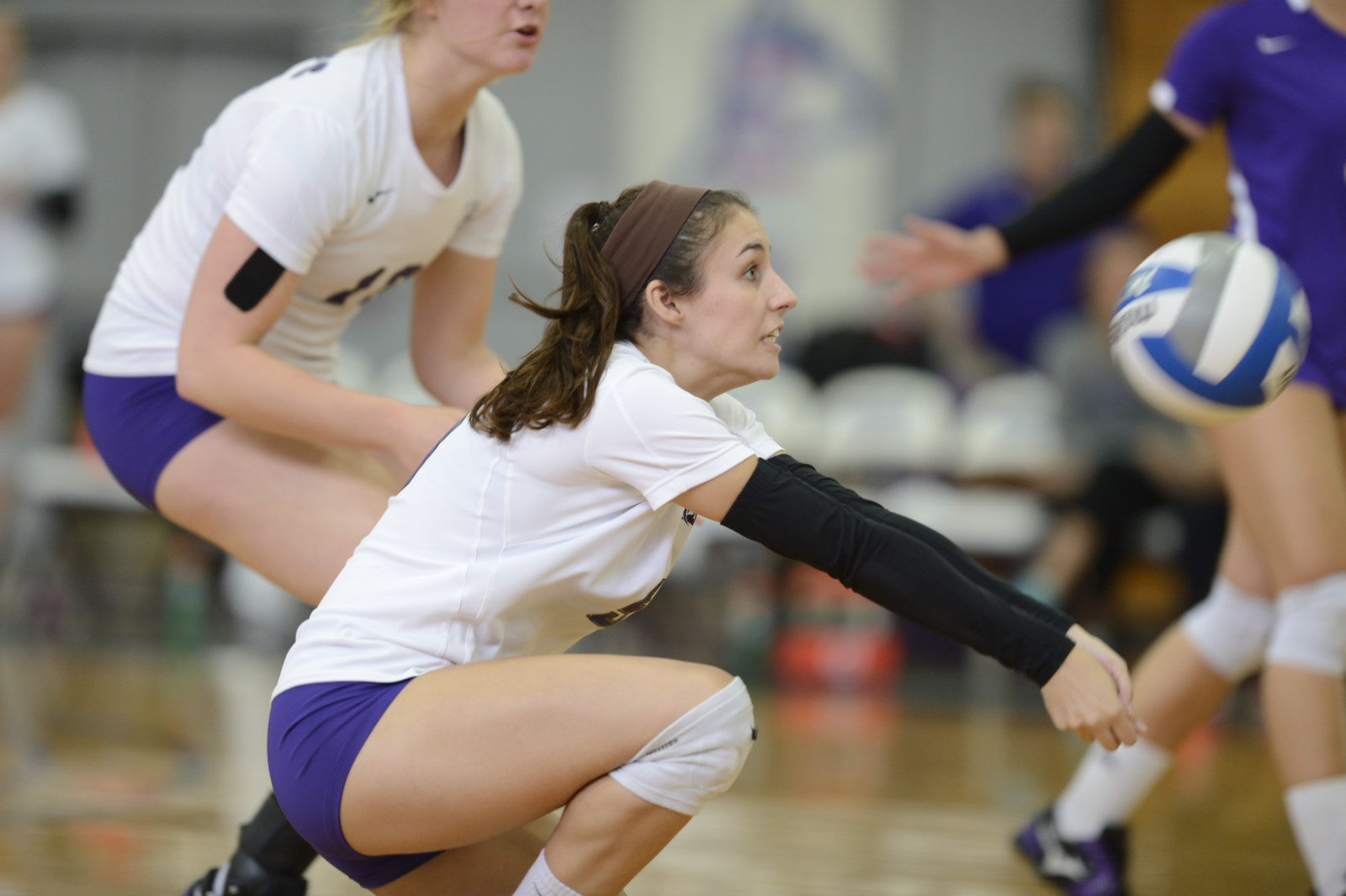 Purple Knights Close Out 2016 Home Volleyball Schedule With Senior Night Sweep Over Molloy