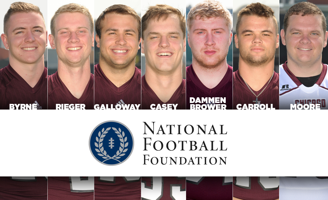 2018 NFF Hampshire Honor Society Includes Seven Maroon Football Players