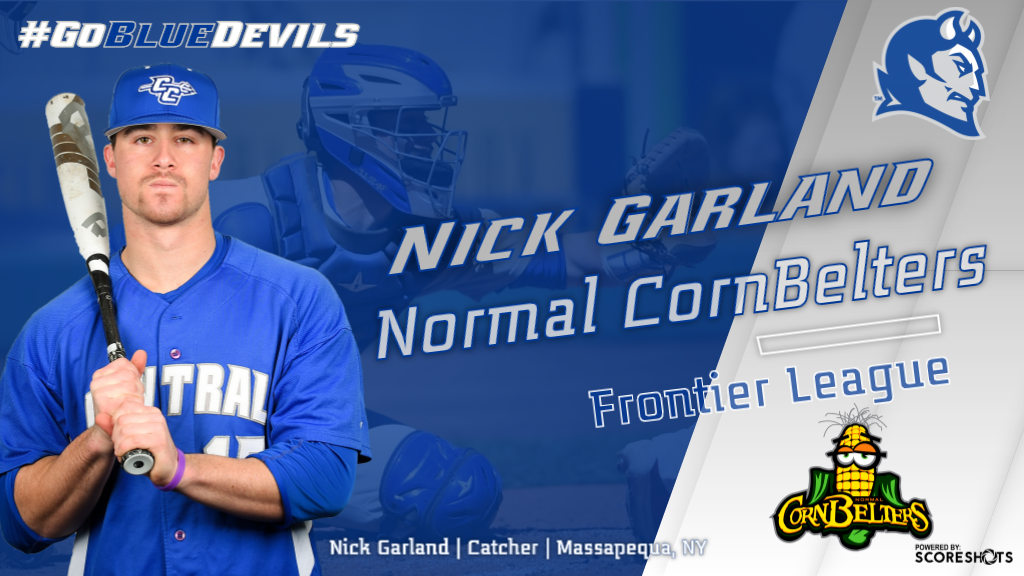 Nick Garland Signs Professional Baseball Contract With Normal CornBelters