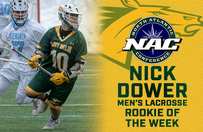 Dower's Playoff-Clinching Efforts Earn Him First NAC Weekly Honor