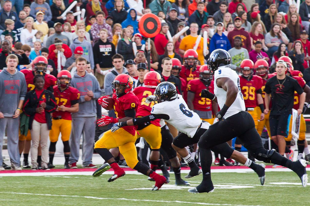 Ferris State Football Vs Grand Valley State Photos By Scott