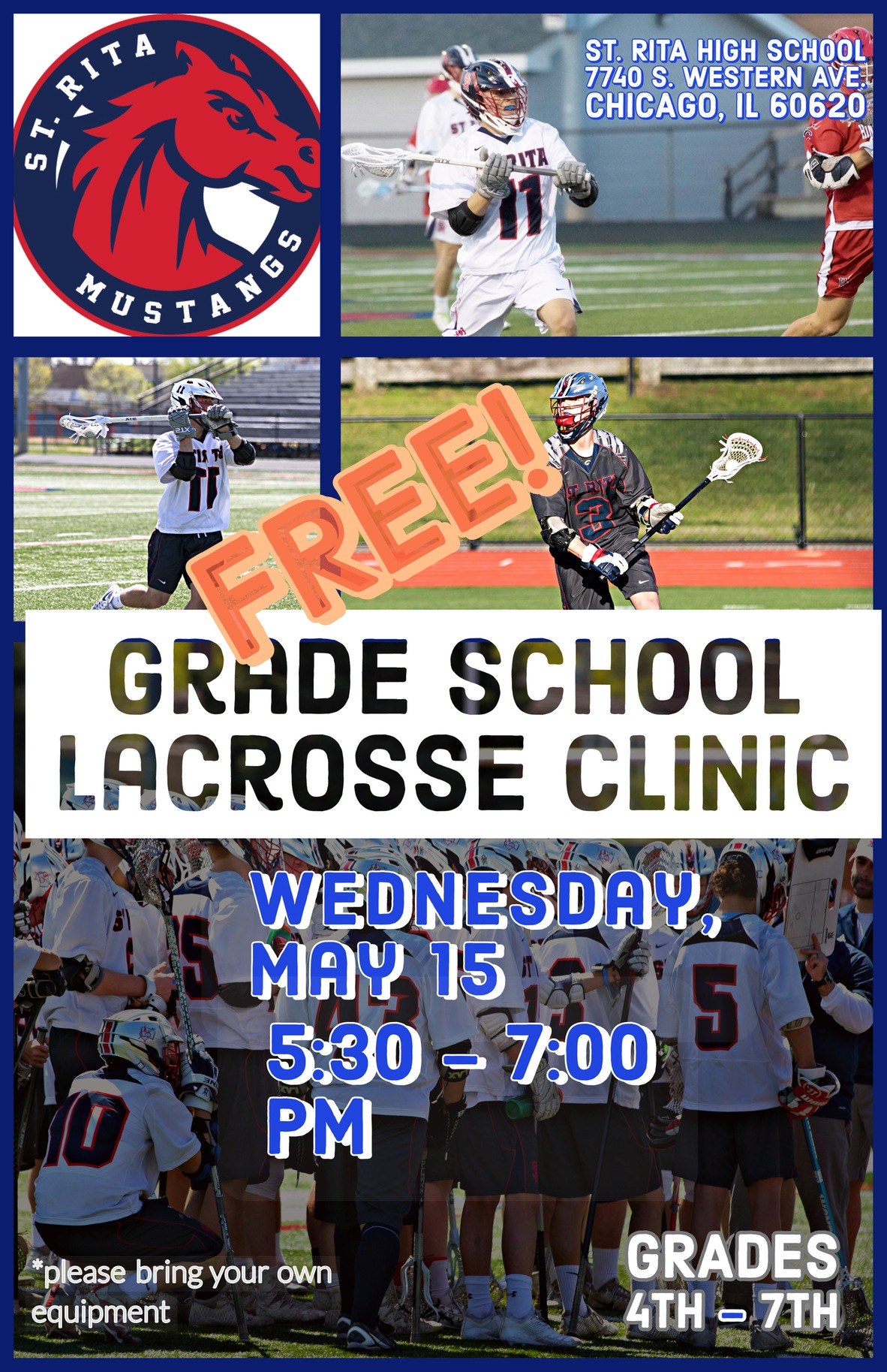 Join us at our Spring Lacrosse Clinic!