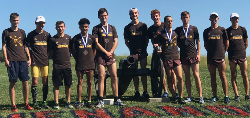 BW Men's Cross Country, 1st in Men's 6k (Photo by Mitch Supan)