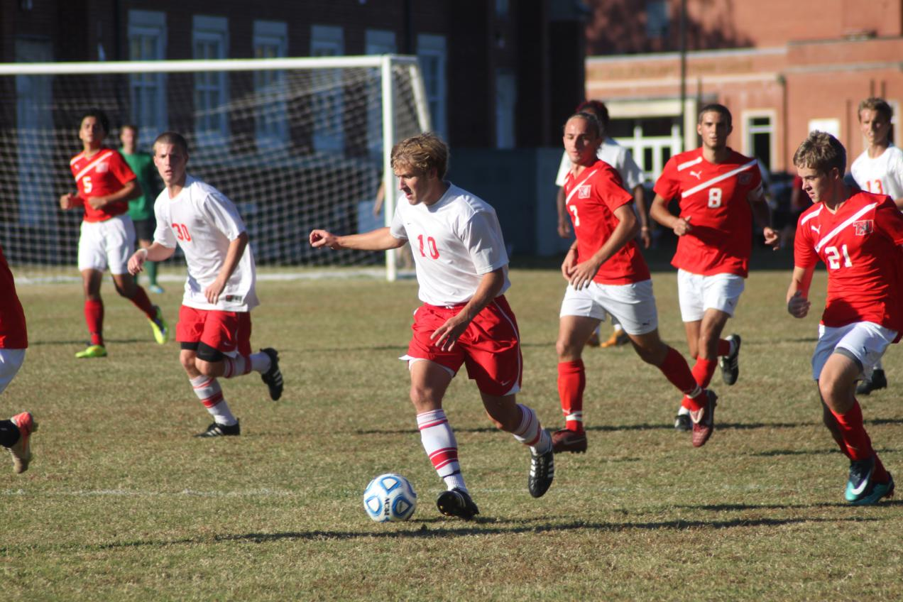 Huntingdon men's soccer shuts out Tennessee Temple on Senior Day