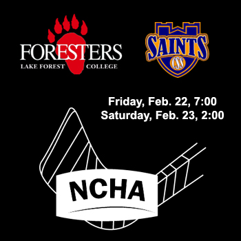 Foresters to Host St. Scholastica in NCHA Quarterfinals this Weekend