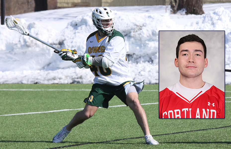 SUNYAC announces Men's Lacrosse Athlete and Goalie of the Week