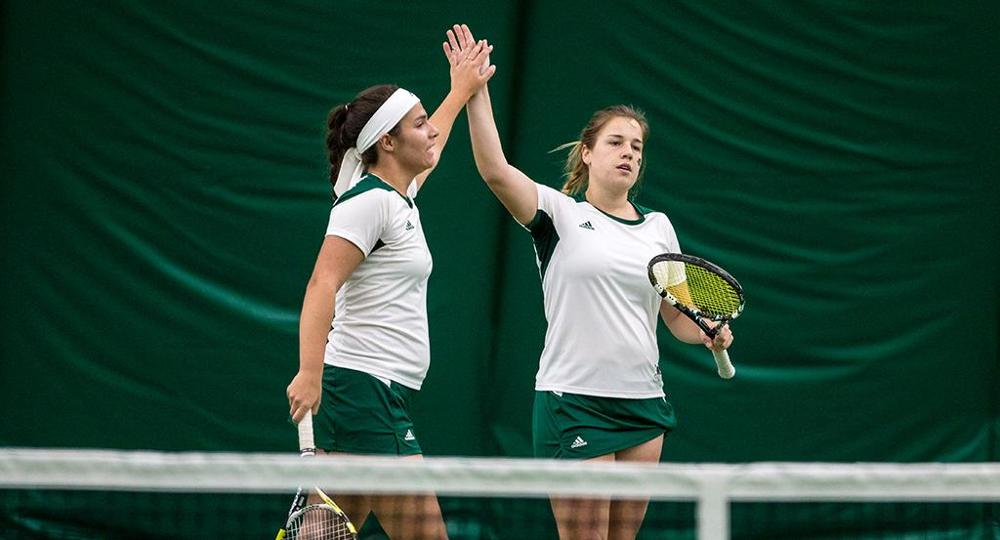 Spindler & Golawska Pick Up Horizon League Doubles Team Of The Week Honors