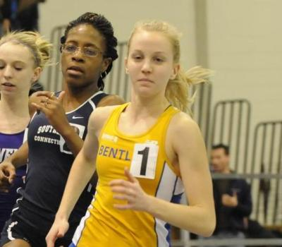 Varsell Collects Another NE-10 Women's Track Athlete of the Week Award