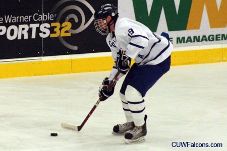 Men's Hockey swept by Adrian