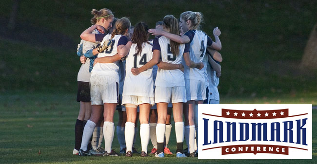 Women's Soccer Team Earns Landmark Conference Sportsmanship Award