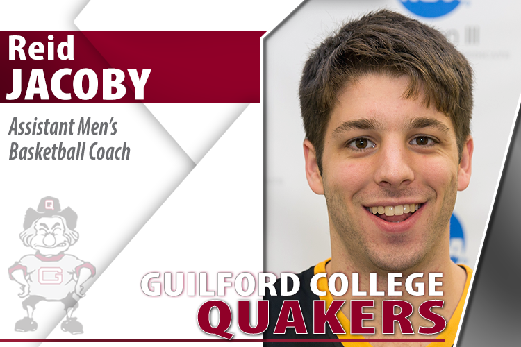 Reid Jacoby Joins Guilford Men's Basketball Staff