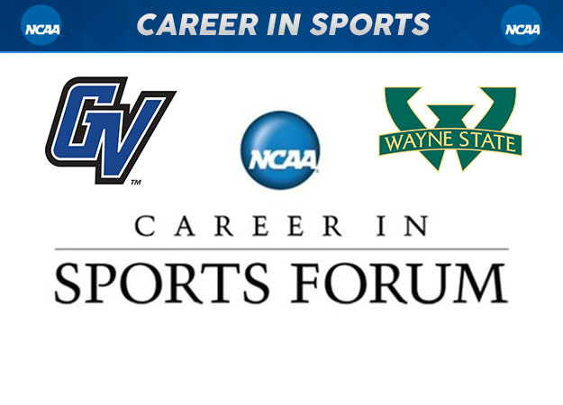 Three Selected to Participate in NCAA Career in Sports Forum