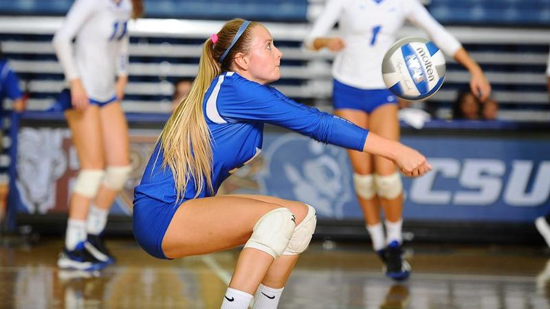 Volleyball Downed by New Mexico St., 3-0, in Brown Invitational Opener