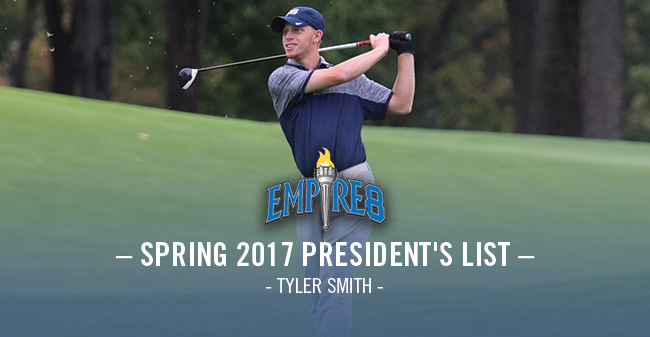 Smith Selected to Empire 8 Spring President's List; Greyhounds Earn Team Academic Honor