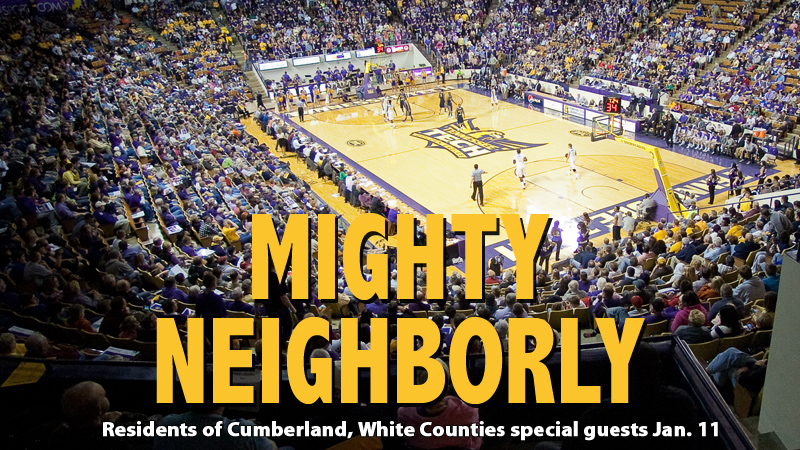 Special invitation to Cumberland, White Counties for Jan. 11 doubleheader