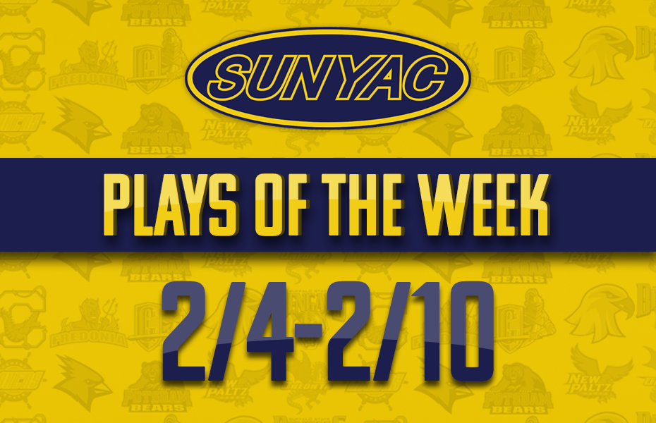 SUNYAC Winter Plays of the Week - Feb. 4-10