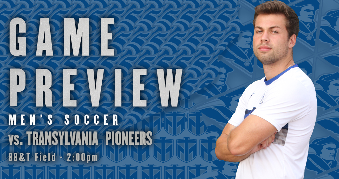 Men's Soccer Hosts Transylvania on Thursday