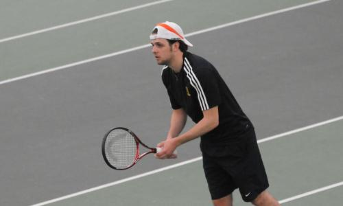 Babson Halts Tennis' Win Streak