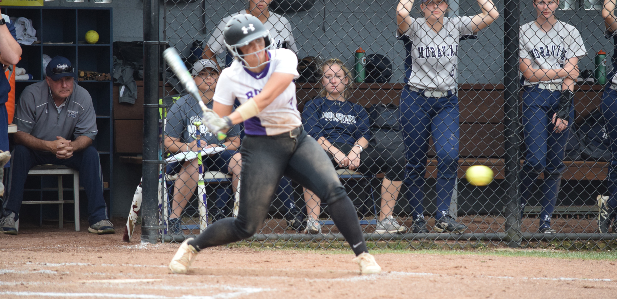 Junior Casey DeSarno went 2-for-3 with two runs scored as Scranton won Thursday's opener over the Coast Guard Academy.