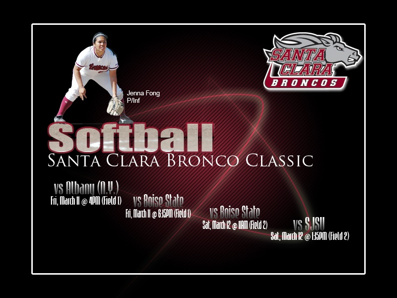 2011 Santa Clara Bronco Classic This Weekend
