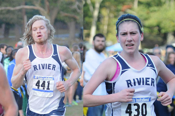 Men's and Women's XC compete at 10th annual Saints Invitational