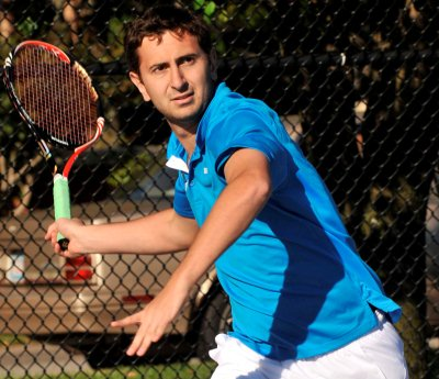 Ribeiro Among Four Men's Tennis Players Named All-Conference