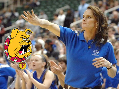 Colleen Lamoreaux-Tate was tabbed as FSU's new head coach (Photo Courtesy MLive.com & Grand Rapids Press)