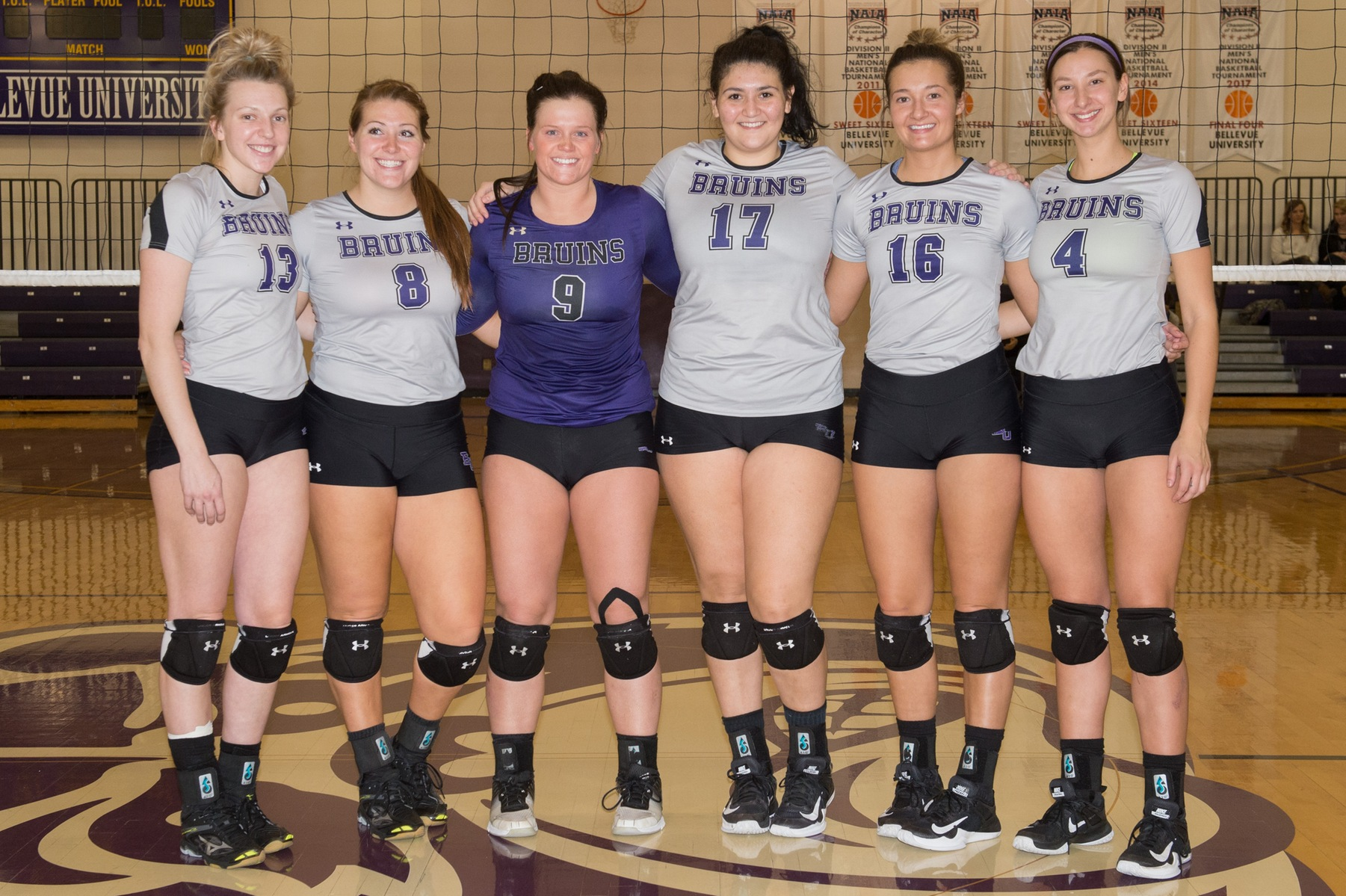 Volleyball sweeps Ozarks, Dickinson State on Senior Day