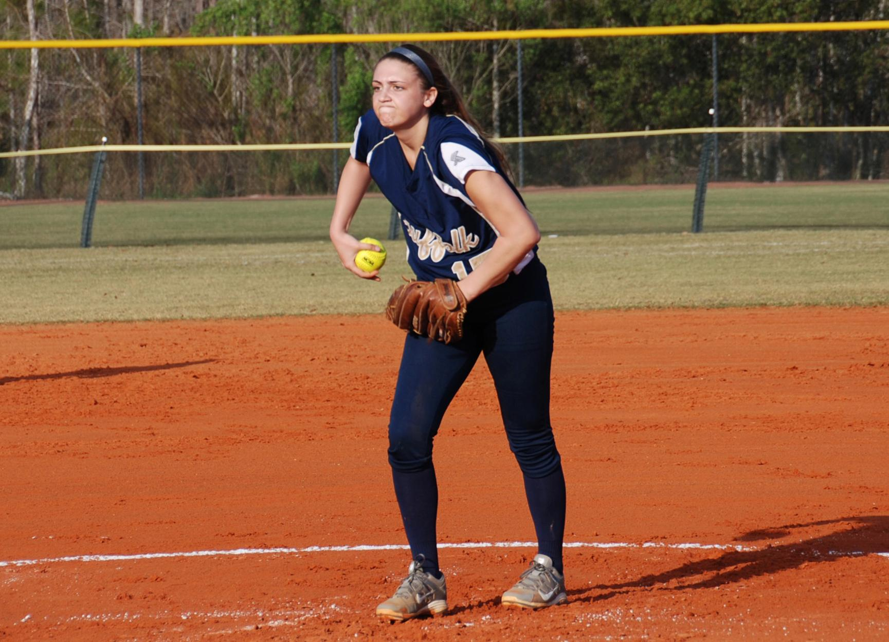 Softball Holds Off No. 24 Central in Season Debut, 3-2