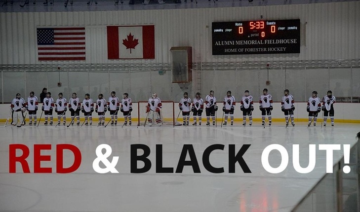 Help Forester Women's Hockey Light the Lamp in Red and Black