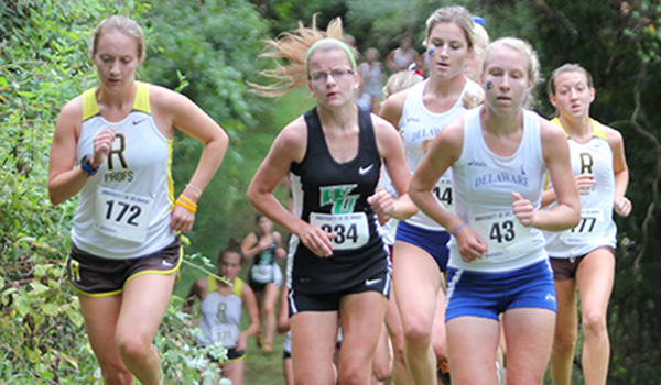 Men Finish 12th and the Women 20th at the Princeton Cross Country Invitational