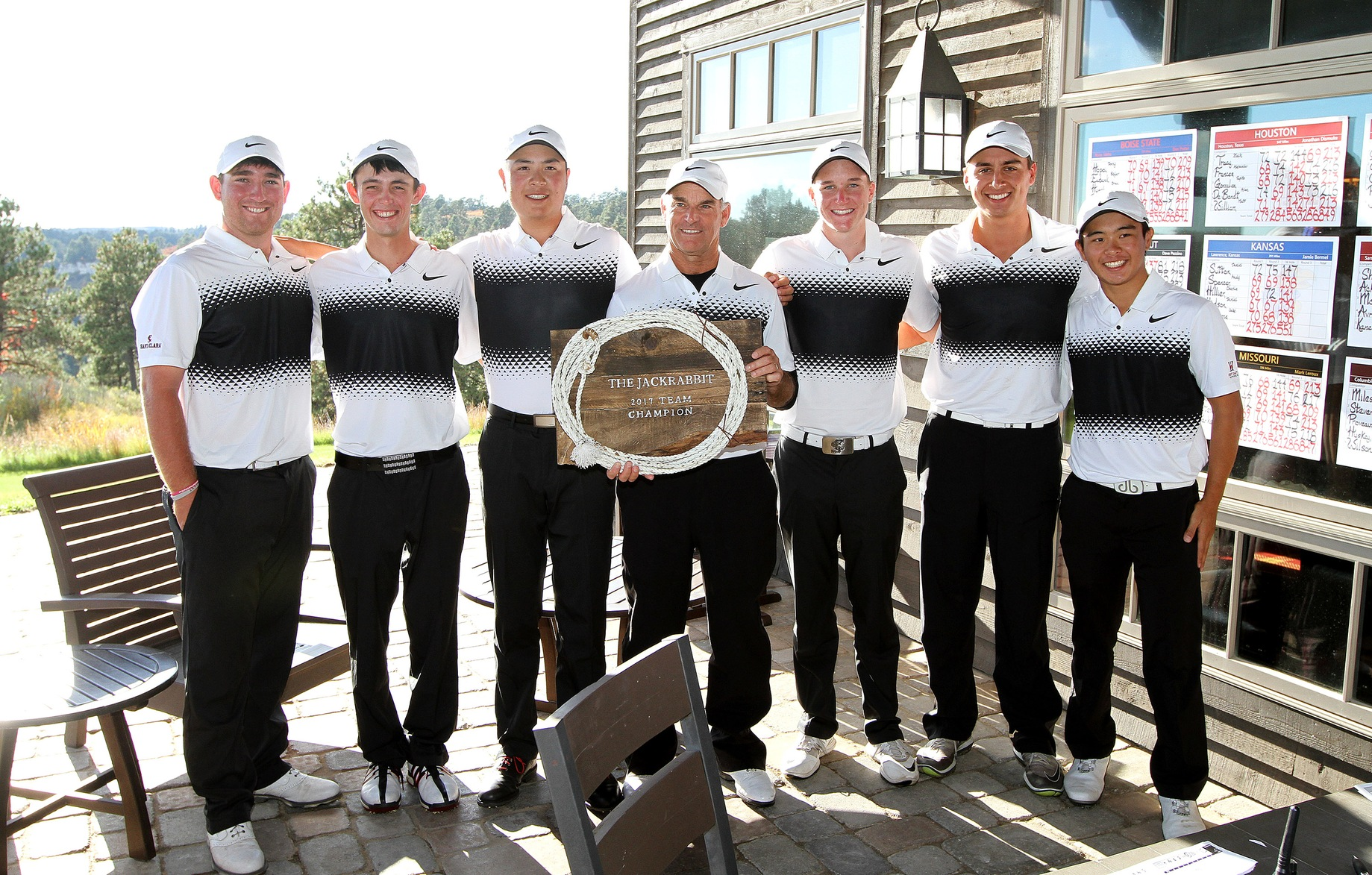 Shieh, Men's Golf Hold On To Capture Titles At The Jackrabbit