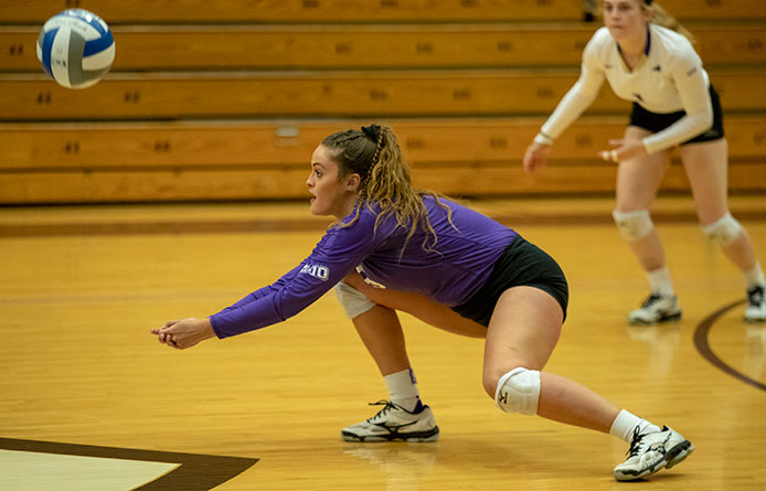 Women's Volleyball Falls at New Haven, Region's Top-Ranked Squad