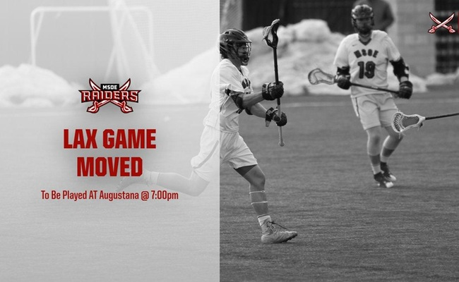 Wednesday's LAX Game Moved