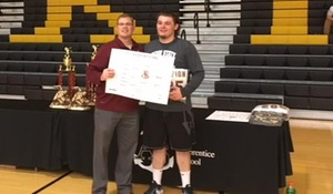PSUD Wrestler Bryce Hanley wins Shipbuilder Invitational