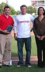 Kochanski Receives Comcast Community All-Star Award
