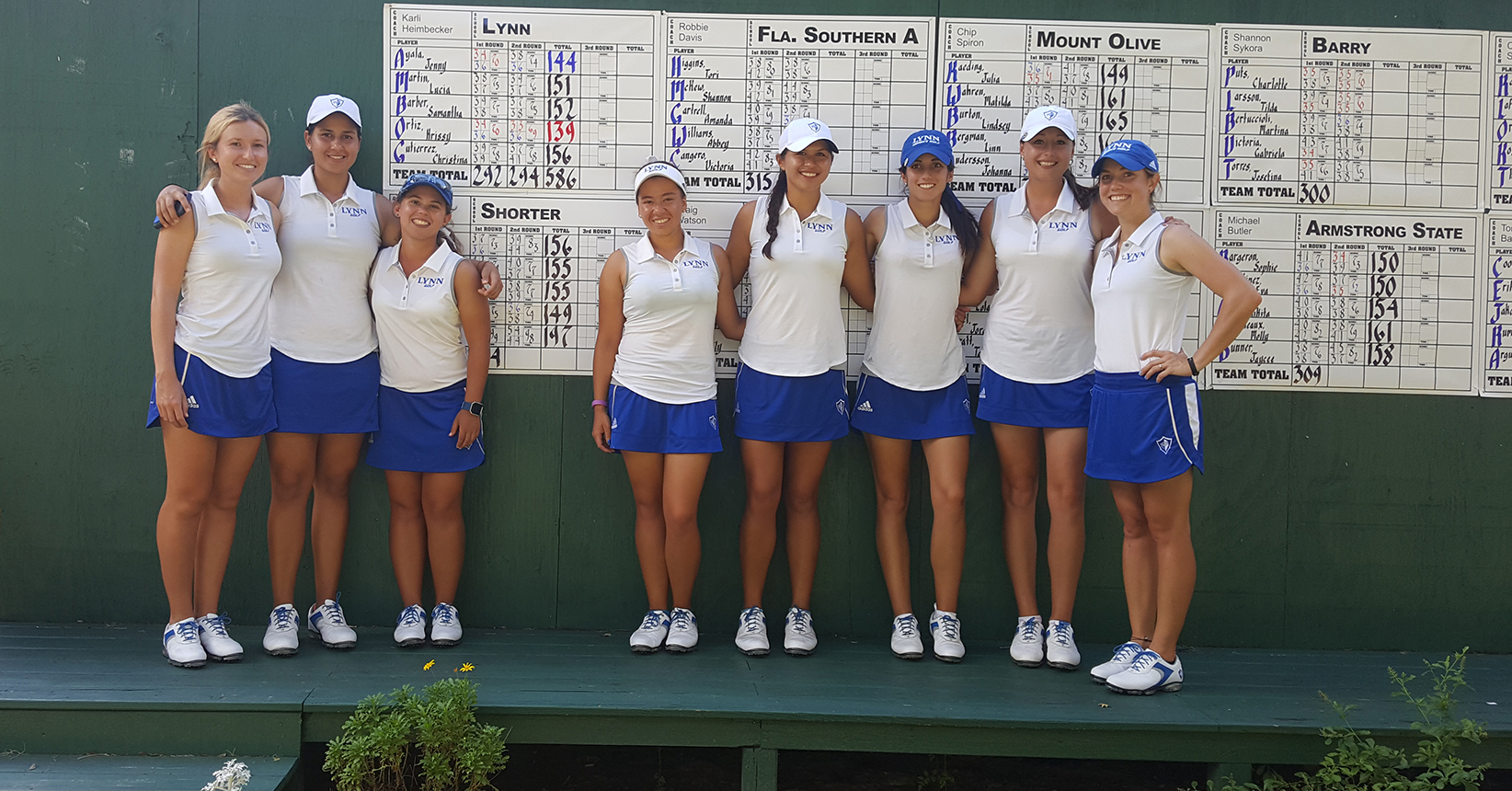 Lynn Women's Golf Finishes Second at the Saint Leo Invitational