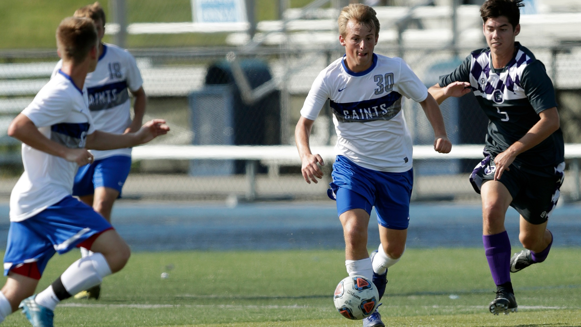 Men's Soccer Defeats Saint Vincent, 4-1