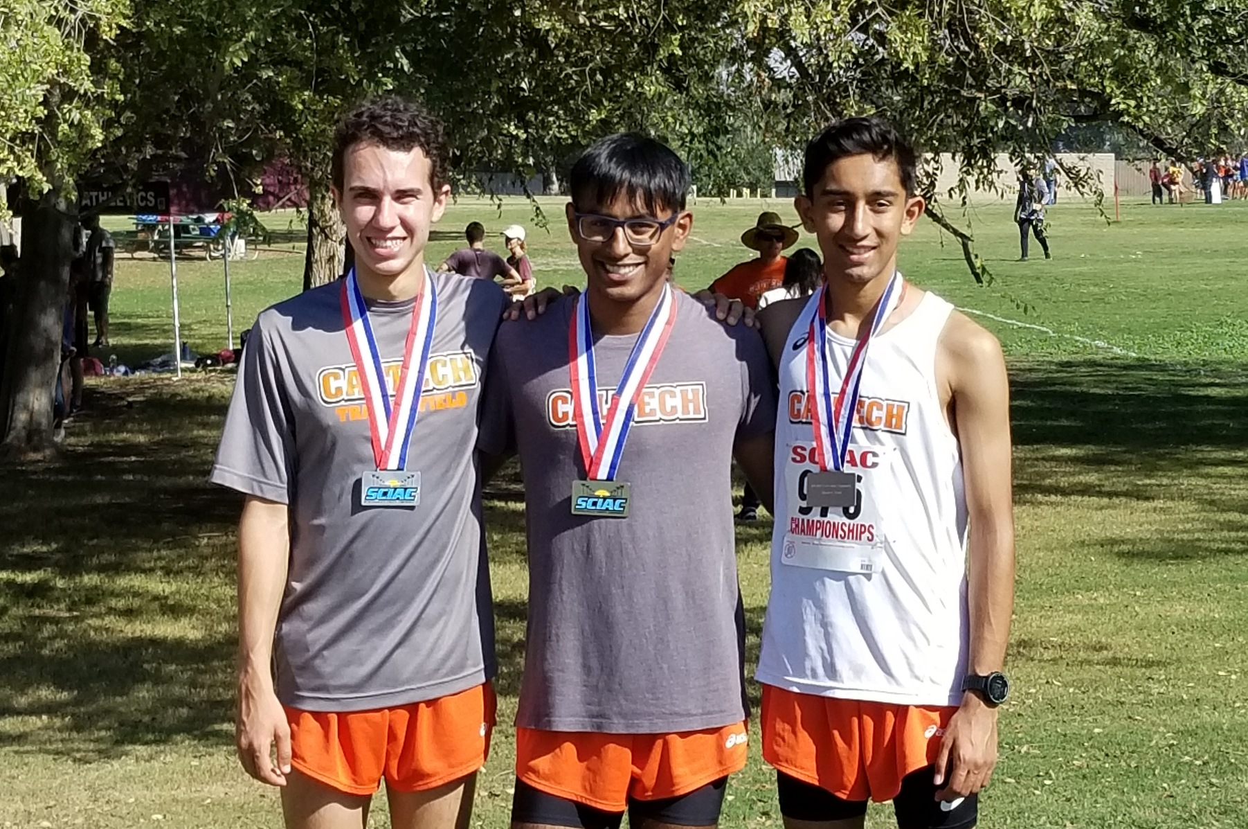 Ricci, Phanse Make All-SCIAC at Cross Country Champs