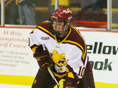 Justin Menke is the latest Bulldog skater to be featured on Inside College Hockey.com's 2009-10 Season Preview.