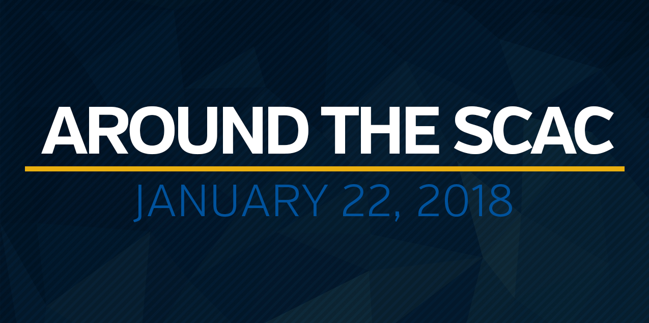 Around the SCAC - January 22