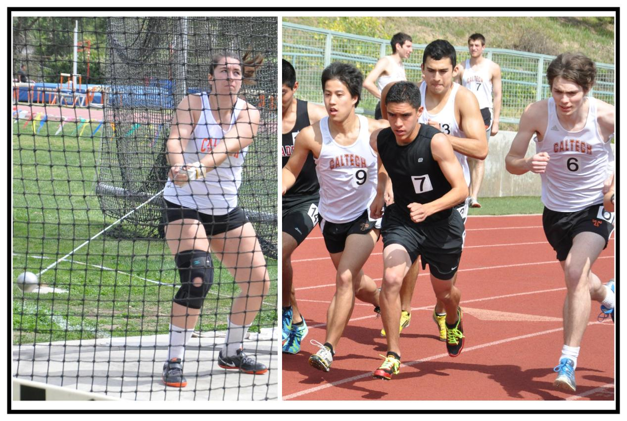 SCIAC Honors Caltech Spring Student-Athletes