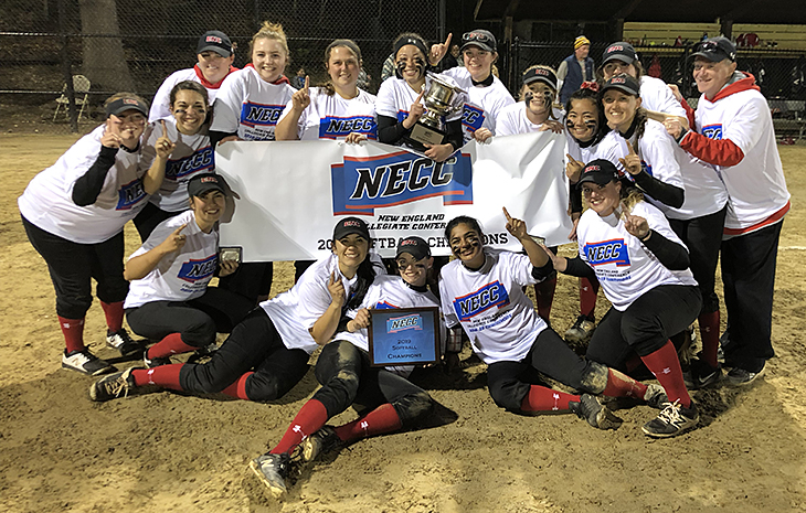 CHAMPS! Softball Captures First-Ever NECC Championship Saturday