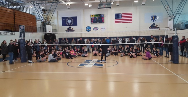 Volleyball Welcomes 70 Participants To Massachusetts Maritime College Coaches Skills Camp Over Weekend