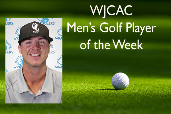 WJCAC Men's Golf Player of the Week (Oct. 14)