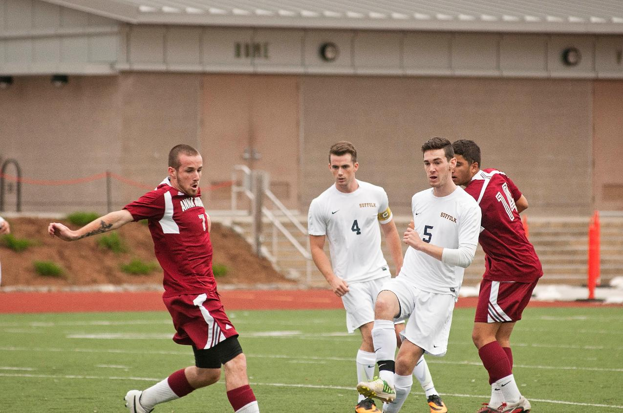 Men's Soccer Plays at Salve Regina, Home Against Mount Ida This Weekend