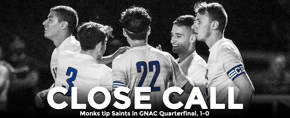 Monks Edge Saints in GNAC Quarterfinal, 1-0