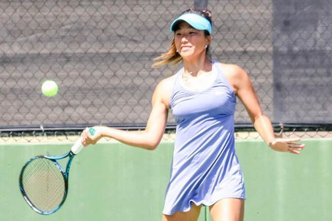 File Photo: Lisa Suzuki advances in both singles and doubles