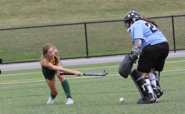 Nicole Wilson (1) scored twice for Keuka College in the victory -- Photo by Ed Webber