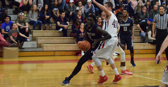 Greyhounds Fall to DeSales as Holder Nets Career-High 23 Points